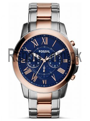 Fossil Two-Tone Fossil Grant Chronograph Stainless Steel Watch FS5024   (Same as Original) Price in Pakistan