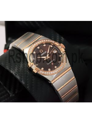 Omega Constellation Brown Dial Watch Price in Pakistan