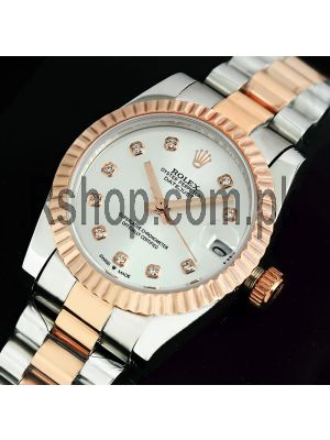 Rolex Lady-Datejust Silver Dial Watch Price in Pakistan