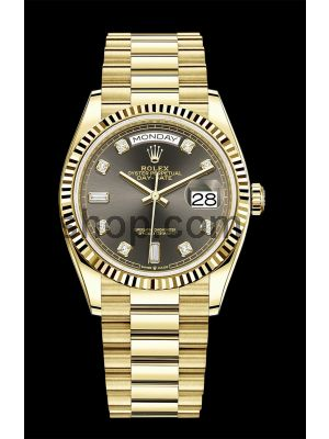 Rolex Day-Date  Yellow Gold Swiss Watch Price in Pakistan