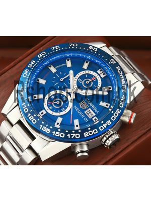 TAG Heuer Carrera Calibre HEUER 01 Blue Dial Watch