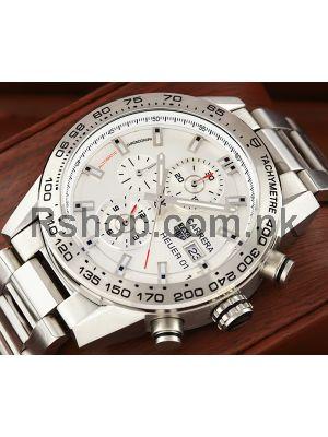 Tag Heuer Carrera Calibre Heuer 01 Silver Dial Watch