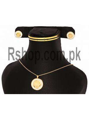 Rolex Fashion Jewelry Set Price in Pakistan