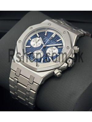 Audemars Piguet Royal Oak Titanium Blue Dial Watch Price in Pakistan