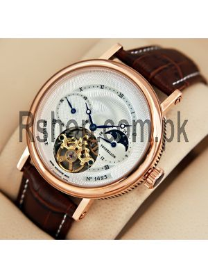 Breguet Moon Phase Tourbillon Men's Watch Price in Pakistan