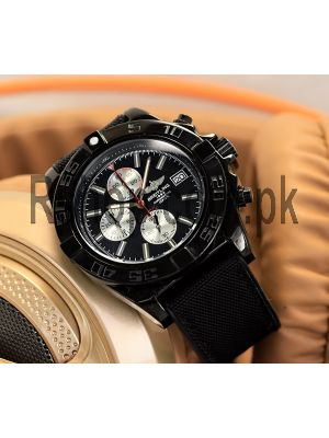 Breitling Black Chronograph Watch Price in Pakistan