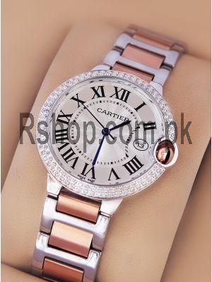 Cartier Ballon Bleu Two Tone Watch  Price in Pakistan