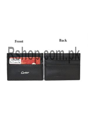Cartier Card Holder Black Price in Pakistan