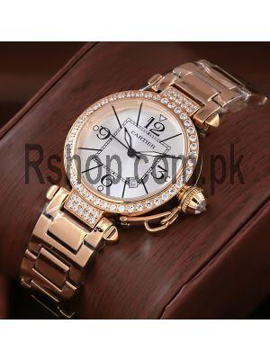 Cartier Pasha Ladies Watch Price in Pakistan