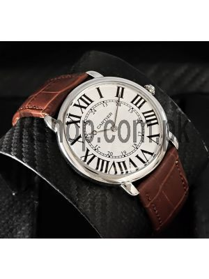 Cartier Ronde Solo Mens Watch Price in Pakistan