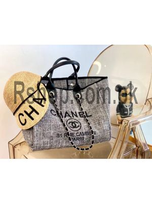 Chanel Canvas Deauville Tote Bag ( High Quality ) Price in Pakistan