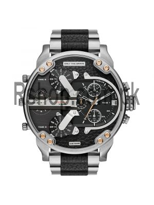 MR. DADDY 2.0 BLACK DIAL STAINLESS STEEL MEN'S WATCH Price in Pakistan