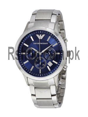 Emporio Armani Chronograph Navy Blue Dial Men's Watch  Price in Pakistan