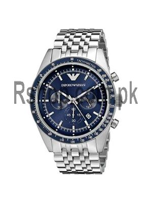 Emporio Armani Men's AR6072 Sport Silver Watch Price in Pakistan