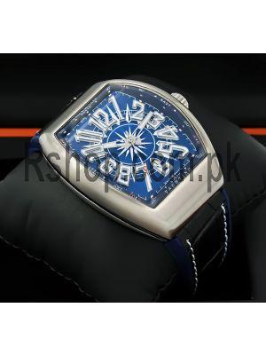 Franck Muller Vanguard Yachting Blue Dial Watch Price in Pakistan