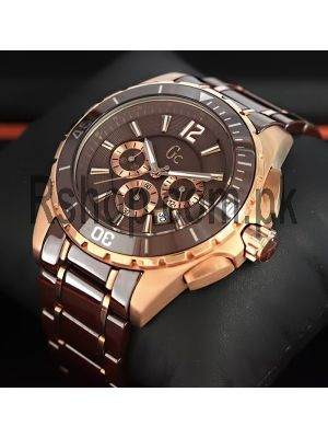 GC Gent's Sport Class XXLBrown Watch Price in Pakistan