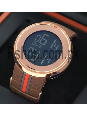 Gucci Digital Rubber Strap Watch Price in Pakistan