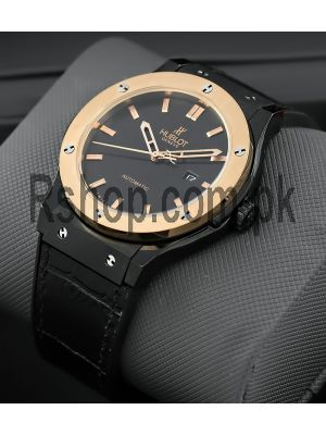 Hublot Classic Fusion Black Dial Watch Price in Pakistan