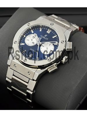 Hublot Classic Fusion Chronograph Mens Blue Dial Watch Price in Pakistan
