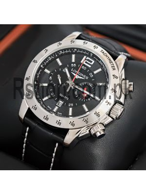 Longines Admiral Chronograph Black Watch Price in Pakistan