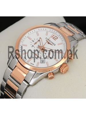 Longines Conquest Classic Chronograph Watch Price in Pakistan