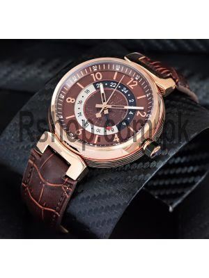 Louis Vuitton Tambour GMT Brown Watch Price in Pakistan