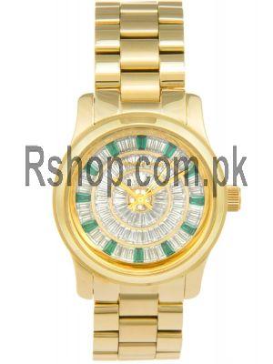 Michael Kors Women's Runway Gold-Tone Watch Price in Pakistan