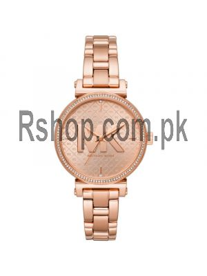 Michael Kors Sofie Quartz Crystal Rose Gold Dial Ladies Watch Price in Pakistan