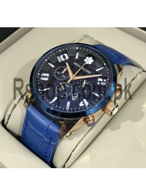 Montblanc TimeWalker Chronograph Blue Watch Price in Pakistan