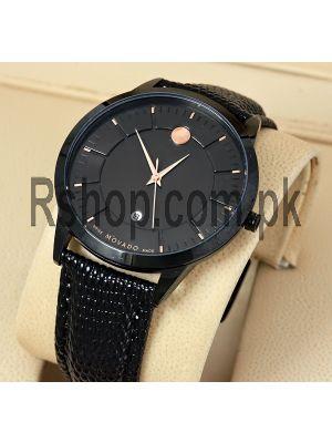 Movado Men's Analog Display Black Watch Price in Pakistan