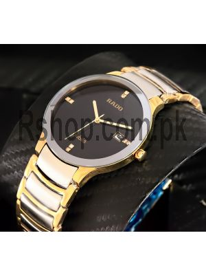Rado Jubile Two tone Men's Watch Price in Pakistan