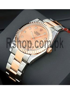 Rolex Oyster Perpetual Datejust Two-Tone Swiss Watch Price in Pakistan