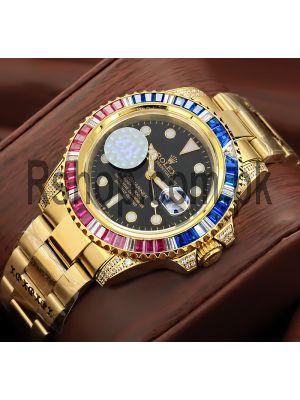 Rolex Submariner Diamond Bezel Watch Price in Pakistan