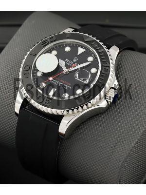Rolex Yacht-Master Black Dial Swiss Watch Price in Pakistan