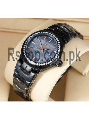 TAG Heuer Lady Link Mother of Pearl Dial Black Ceramic Watch Price in Pakistan