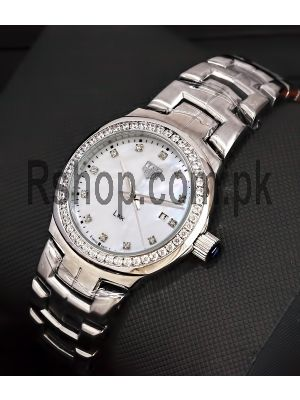 Tag Heuer Lady Link Mother of pearl Dial Ladies Watch Price in Pakistan