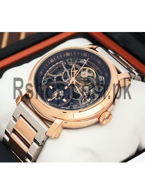 Vacheron Constantin Geneve Skeleton Two Tone Watch Price in Pakistan